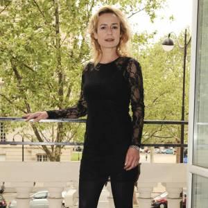 Sandrine Bonnaire lors d'une présentation presse concernant le Festival de Cannes à Paris