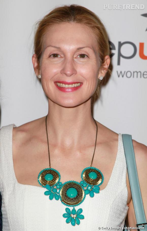 Kelly Rutherford réinvente le make-up light