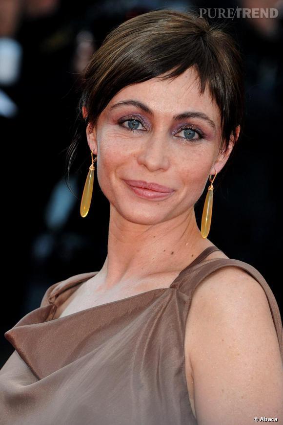 Emmanuelle Béart à la présentation du film Des Hommes et des Dieux au Festival de Cannes