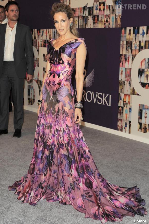Sarah Jessica Parker en robe Alexander McQueen