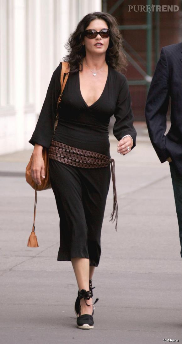 A la ville, l'actrice optepour la simplicité et la discretions mais en restant tendance. 2005