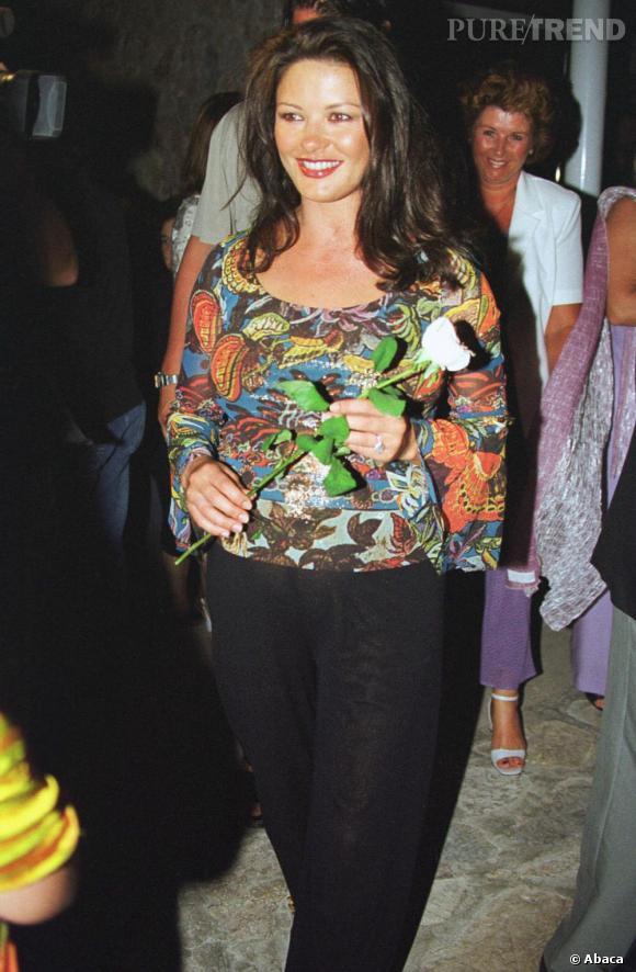 En 2000, enceinte, Catherine se laisse aller à des choix un peu étonnant...