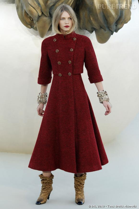 Défilé Haute Couture Chanel Automne-hiver 2010-2011