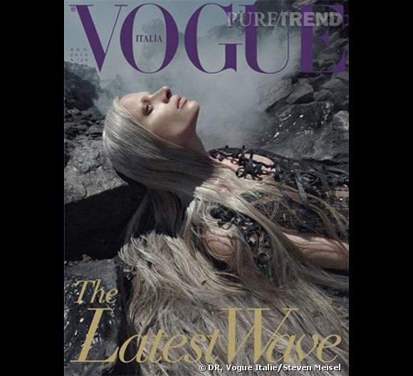 Couverture Vogue Italie Août 2010