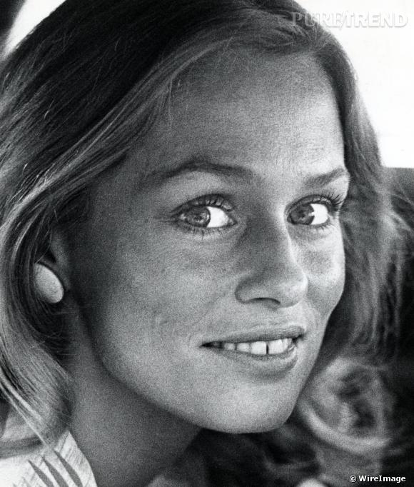 Lauren Hutton, actrice et mannequin icônique impose les dents du bonheur aux Etat-Unis dans les années 70.