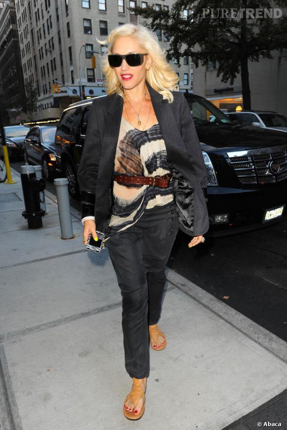 Gwen Stefani, parfaite dans les rues de New York