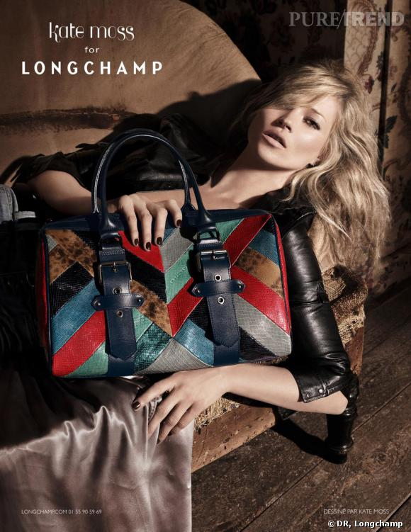 Collection Kate Moss pour Longchamp : Neo Patch.