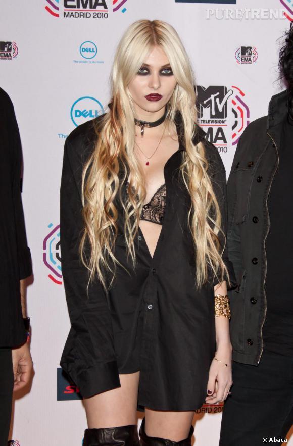 Taylor Momsen aux MTV Europe Music Awards à Madrid.