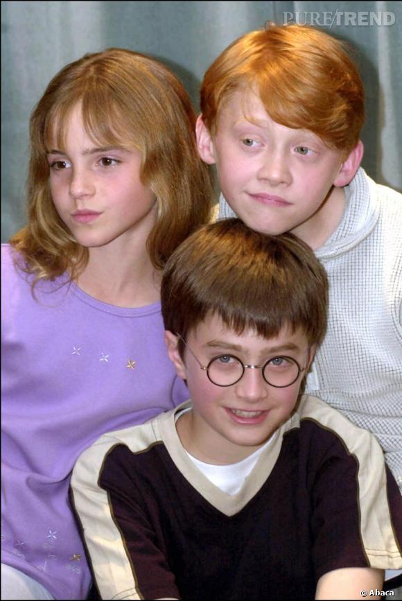 En 2001, Emma Watson a 11 ans. Ses taches de rousseur et sa frange d'ado prépubère font la une des tabloïds.
