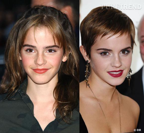 L'évolution capillaire d'Emma Watson