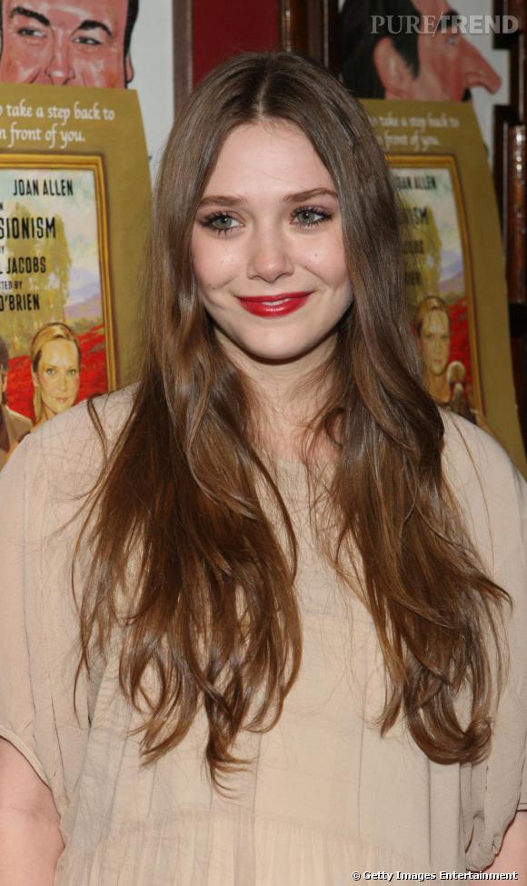 Elizabeth Olsen, petite soeur de Mary Kate et Ashley.