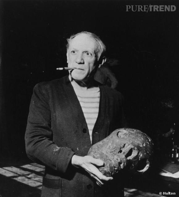 Picasso et sa marinière, une histoire d'amour.
