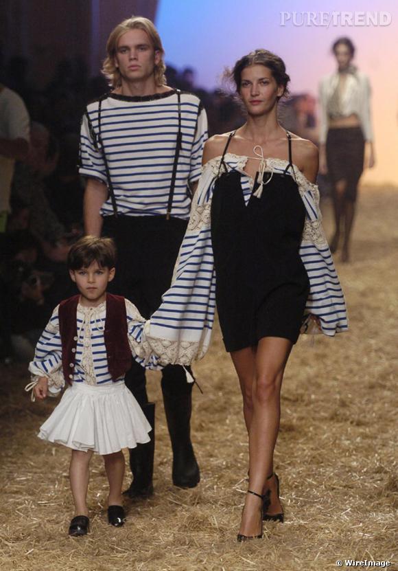 Dès 2005, Jean Paul Gaultier fait lever l'ancre à toute la famille.