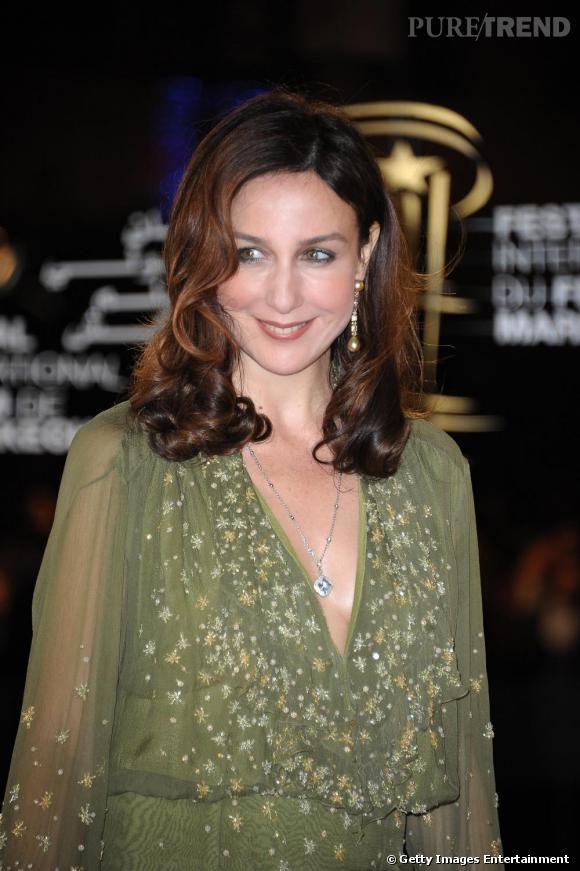 Elsa Zylberstein au Festival du Film de Marrakech.