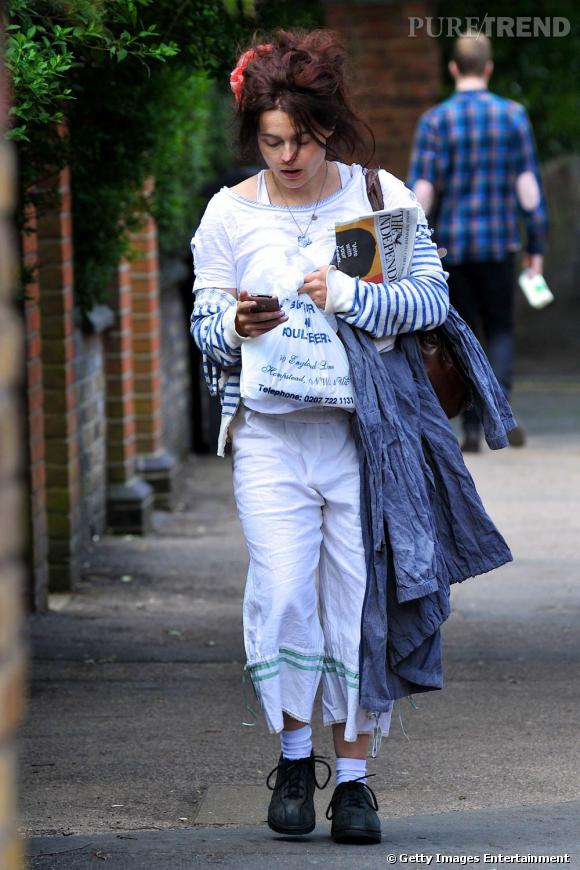 Helena Bonham Carter : ne lui manque plus qu'un caddie...