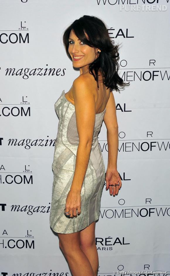 Lisa Edelstein invitée à la soirée L'Oréal Women of Worth Awards.