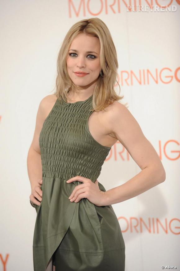"Rachel McAdams au photocall de ""Morning Glory"" à Madrid en Espagne."
