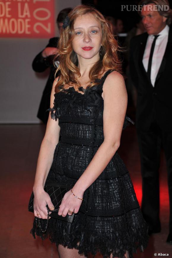Sylvie Testud au Dîner de la mode 2011, à Paris.