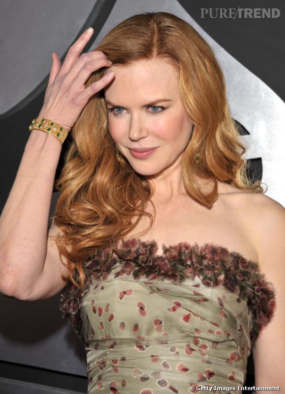 Nicole Kidman aux Grammy Awards, à Los Angeles.