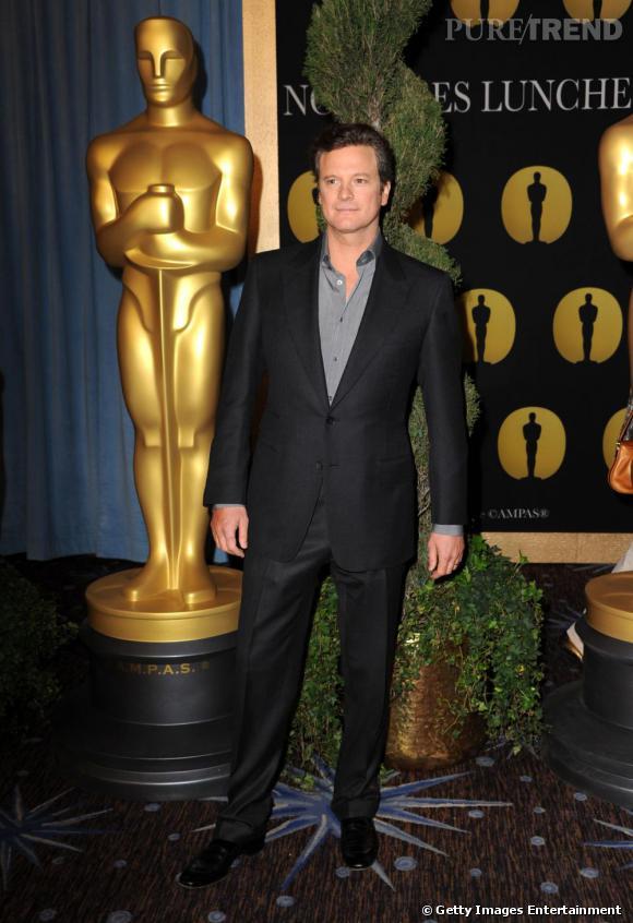 """Dans la catégorie Meilleur Acteur :   Colin Firth   dans """"Le Discours d'un Roi"""".   Pourquoi ? Colin Firth ne cesse de bluffer et est tout simplement époustouflant. Il parvient à la perfection à jouer le rôle d'un """"roi malgré lui"""" rongé par sa timidité maladive."""