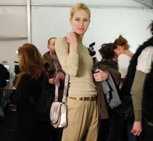 Karolina Kurkova, python et carotte... À shopper !