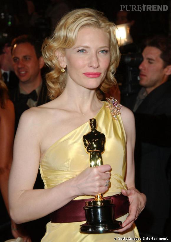 Cate Blanchett ou la beauté australienne.