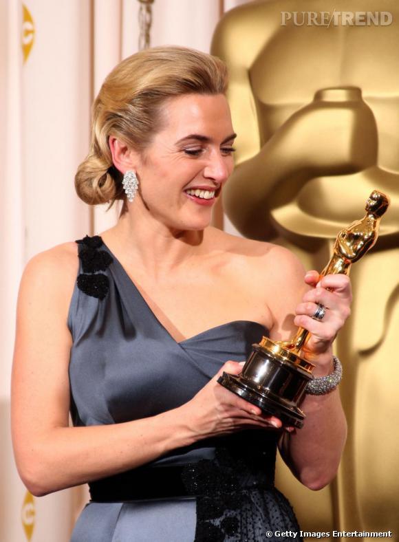 Égérie pour les cosmétiques Lancôme, l'actrice Kate Winslet est une vraie beauté.