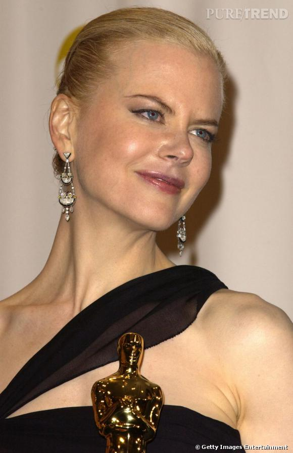 L'australo-américaine Nicole Kidman est connue pour son extrême élégance et son glamour qui lui ont valu d'être le visage de la campagne Chanel n°5.