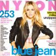 "Sienna Miller se ""dé-zippe"" pour Nylon."