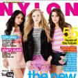3 starlettes pour un seul magazine : Vanessa Hudgens, Portia Doubleday et Ashley Greene.