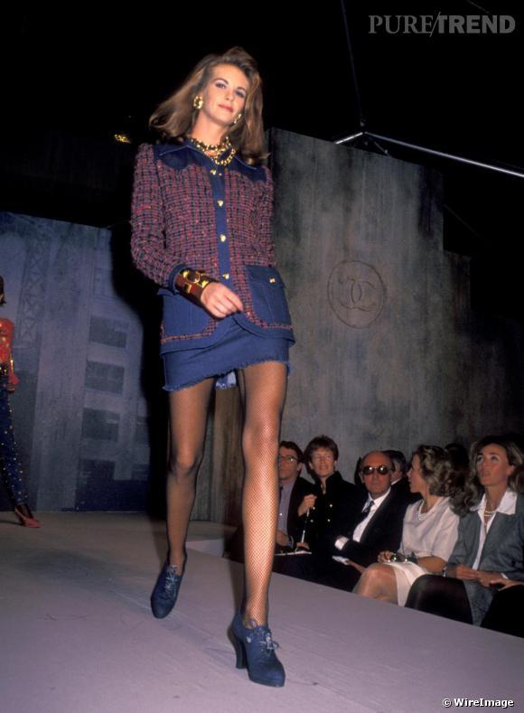 Elle Macpherson à ses débuts en 1991.