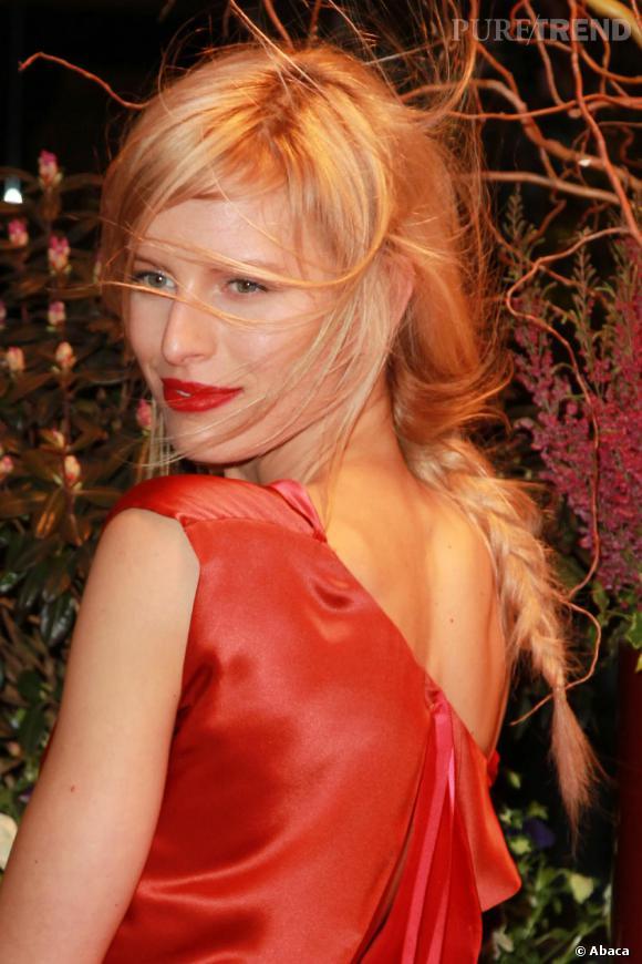 Karolina Kurkova à la soirée New Yorkers for Children Spring Dinner Gala, à New York.