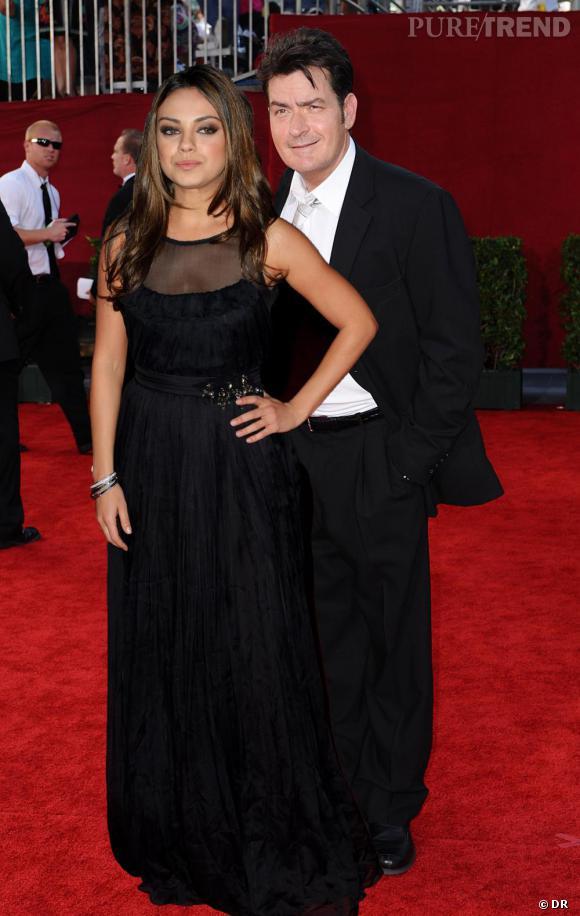 Charlie Sheen aussi aimerait bien qu'une midinette craque pour lui. Il mise sur Mila Kunis, 27 ans, mais pas sûre qu'elle accepte...