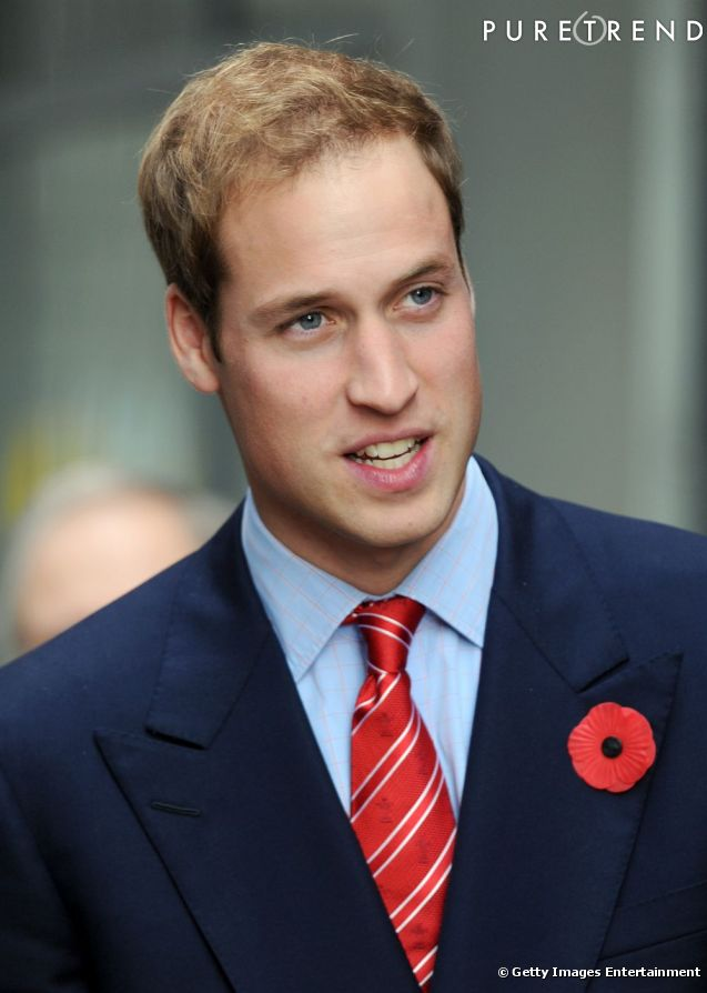 La coiffure du Prince William