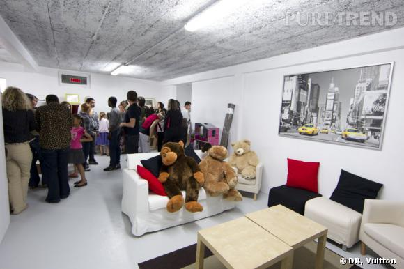 Salle de jeux SOS Village d'Enfants en partenariat avec Louis Vuitton.