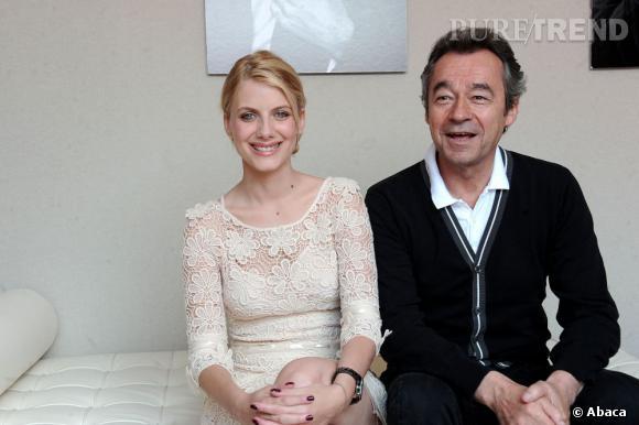 Mélanie Laurent et Michel Denisot.