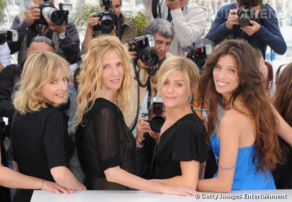 "Marina Foïs au photocall du film ""Polisse""."