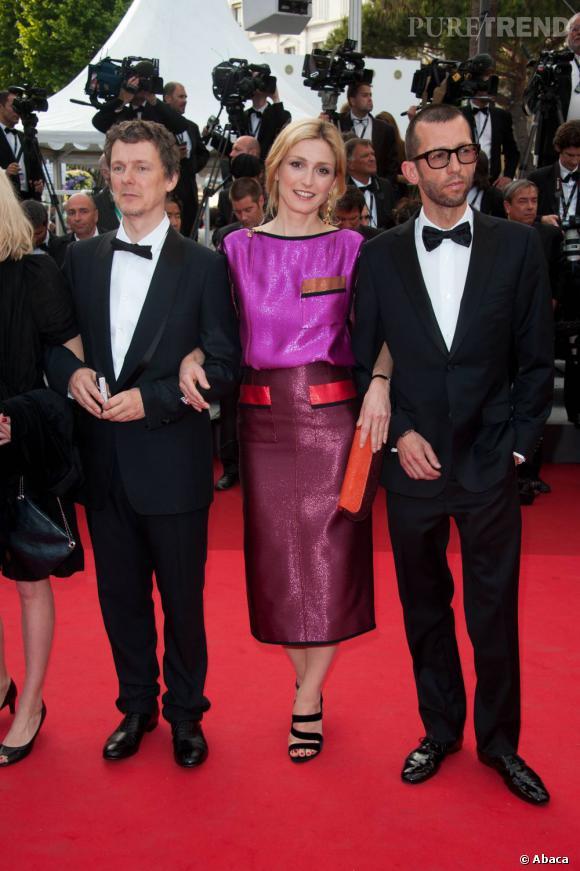 Julie Gayet craque pour Louis Vuitton.