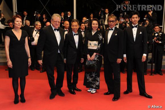 "L'équipe du film ""Ichimei""."