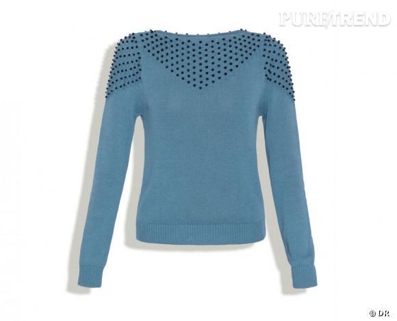 """Surface to Air été 2011 : les coups de coeur    Pull """"La Perle Knit"""", 170 €.   Collection à shopper sur  www.surfacetoair.com"""