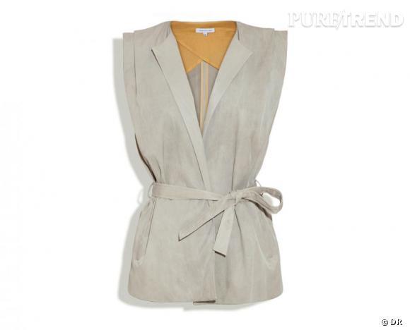 """Surface to Air été 2011 : les coups de coeur    Veste """"Wrap vest"""", 300 €.   Collection à shopper sur  www.surfacetoair.com"""