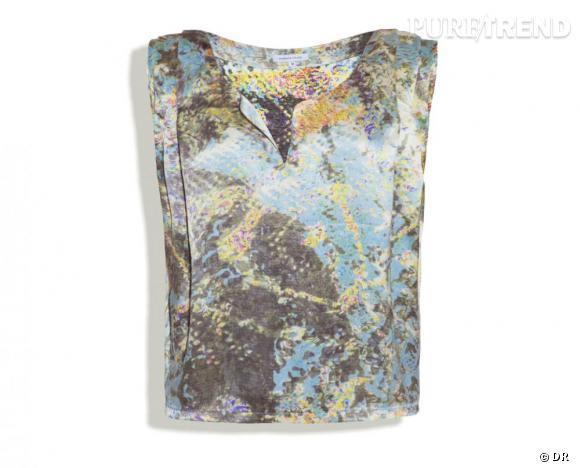 """Surface to Air été 2011 : les coups de coeur    Blouse """"Fold Top"""", 230 €.   Collection à shopper sur  www.surfacetoair.com"""