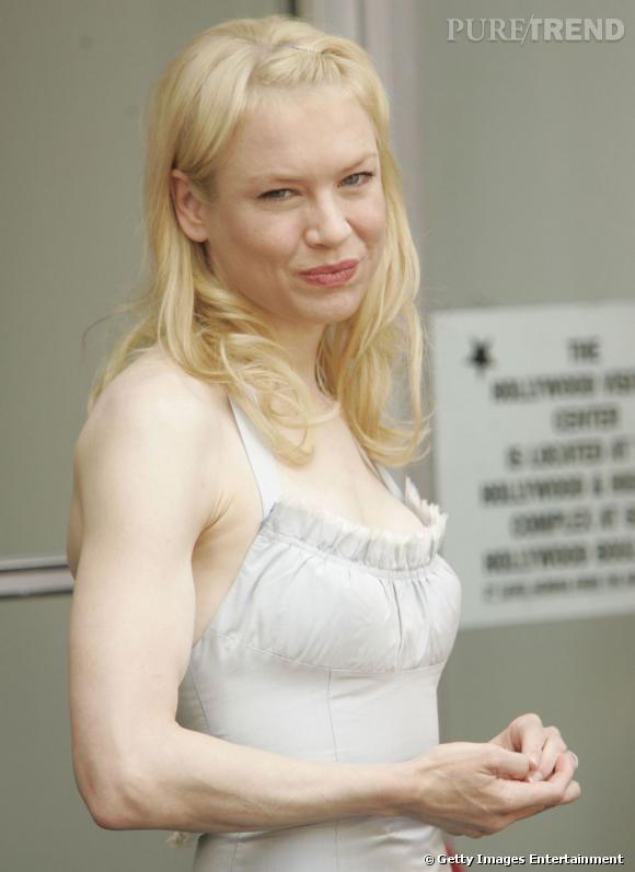 """Après les régimes yo-yo de """"Bridget Jones"""", Renée Zellweger s'est retapée et a musclé son corps. C'est quand le prochain""""Bridget Jones"""" ?"""