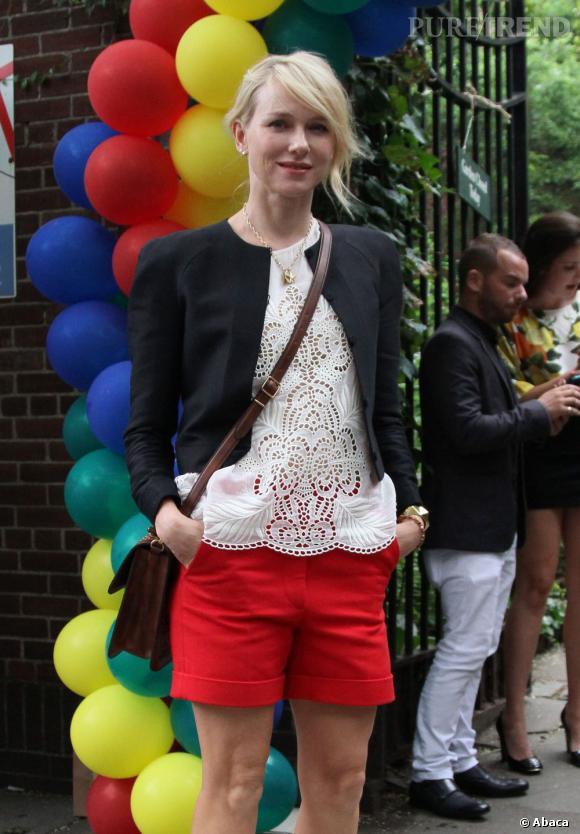 Naomi Watts à la présentation de la collection printemps-été 2012 Stella McCartney, à New York.