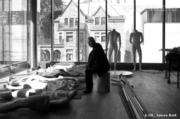 Jean-Paul Gaultier au musée des Beaux-Arts de Montréal.