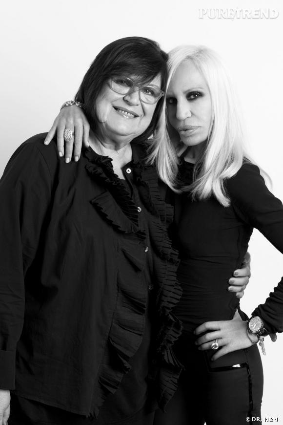 Donatella Versace pour H&M.