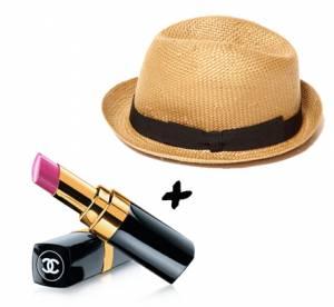 Le rouge à lèvres qu'il faut à mon chapeau !