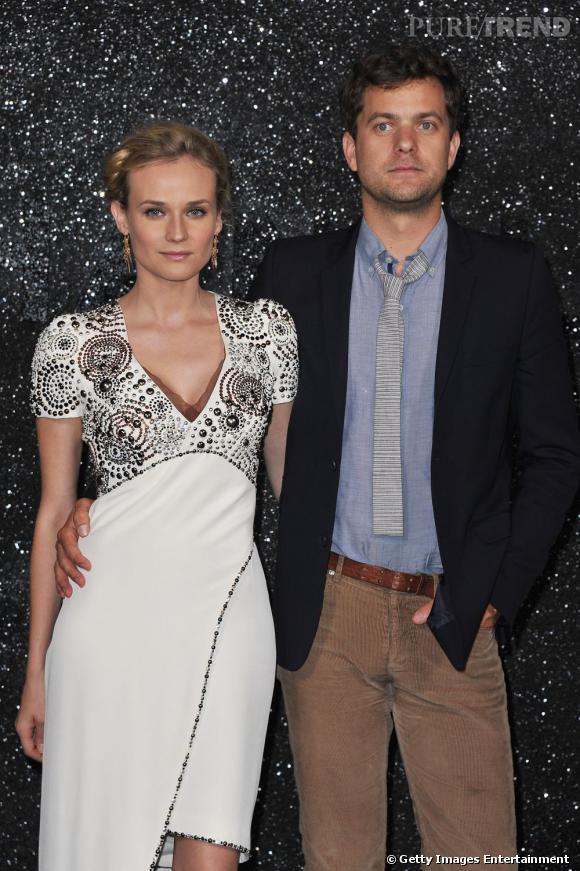 Diane Kruger, aux côtés de son fiancé Joshua Jackson.