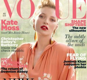 Kate Moss, Madame Hince se la joue rétro