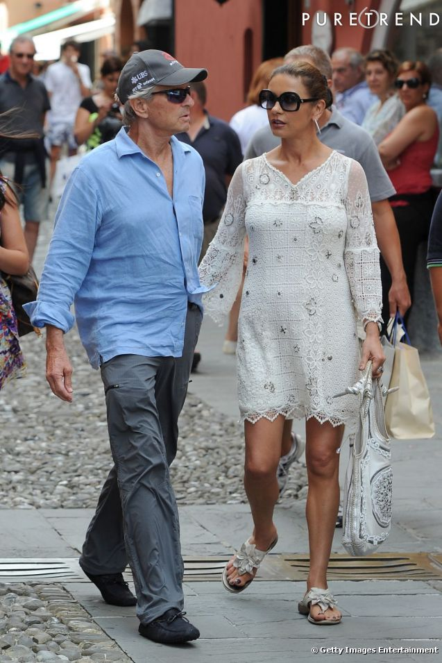 catherine zeta jones michael douglas rencontre deauville